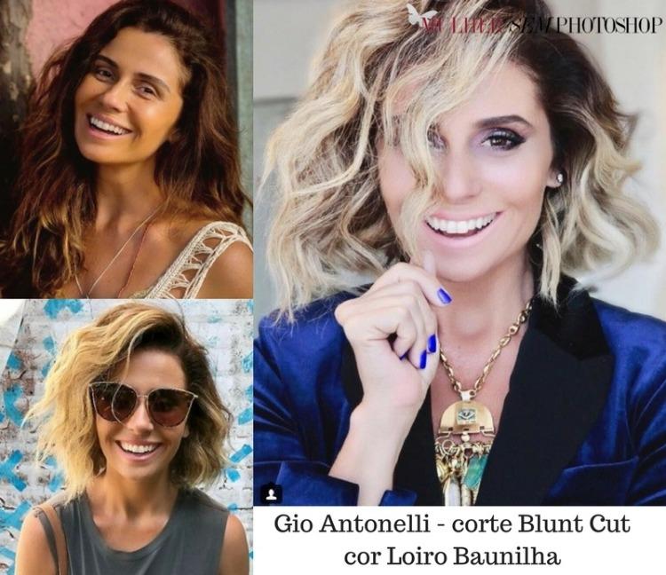 Cabelo Giovanna Antonelli Luzia - novela Segundo sol - cor e corte