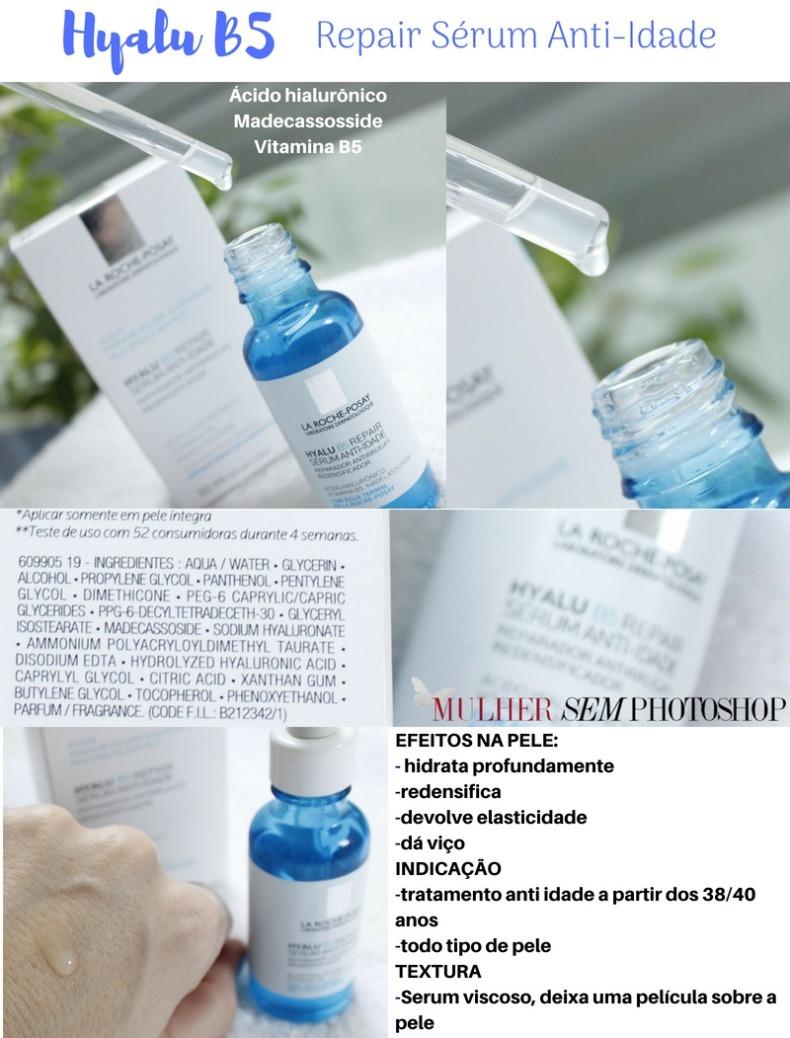 Hyalu B5 Repair Serum Anti Idade La Roche Posay resenha - hidratante com ácido hialurônico
