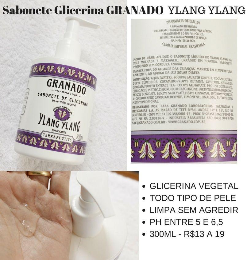 Sabonete Glicerina Granado Líquido resenha