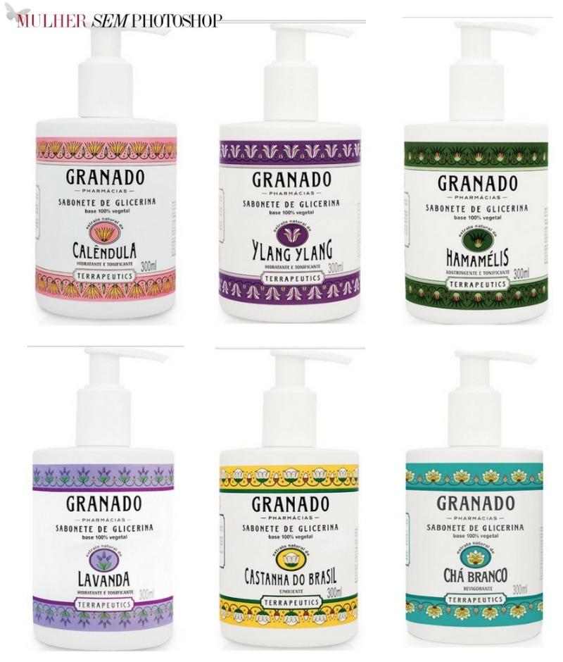 Sabonete Glicerina Granado Liquido