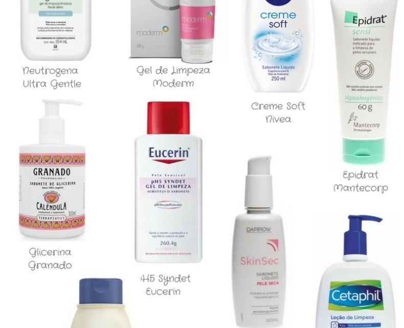Sabonetes para pele seca – rosto e corpo