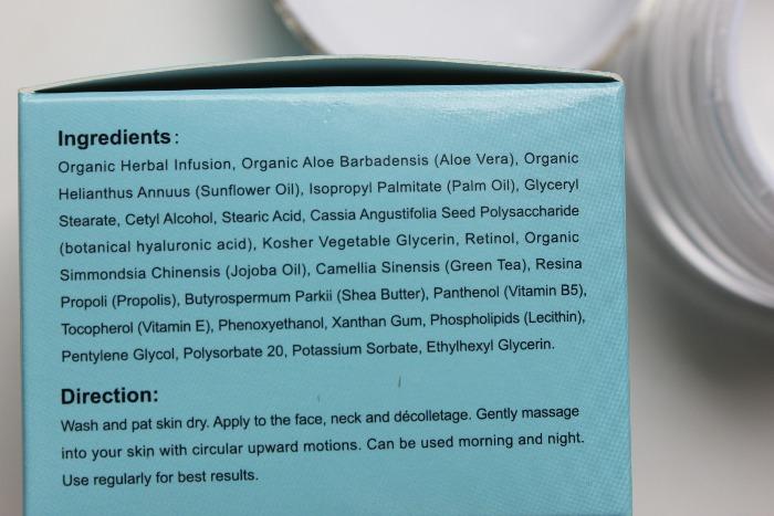 Retinol Dear Cream Dearskin formula