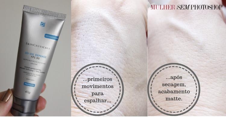 Skinceuticals UV Oil Defense FPS80 resenha protetor solar