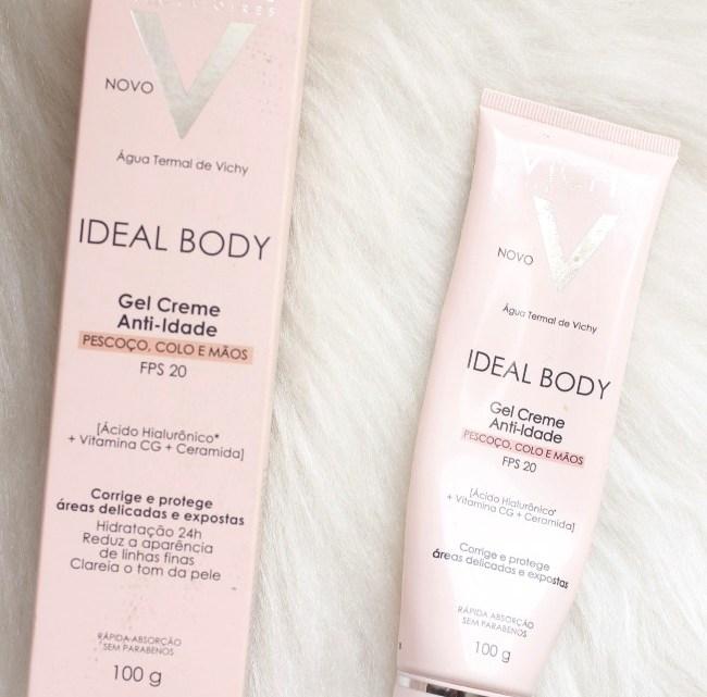 Ideal Body Pescoço Colo e Mãos Vichy – creme anti idade