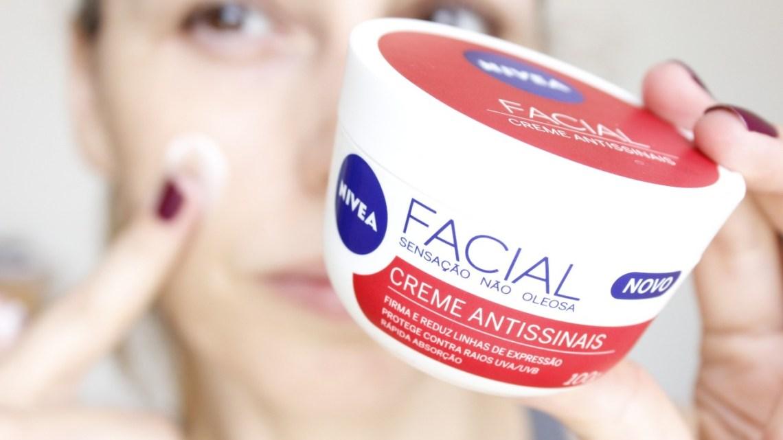 Nivea Facial Creme Antissinais – resenha!