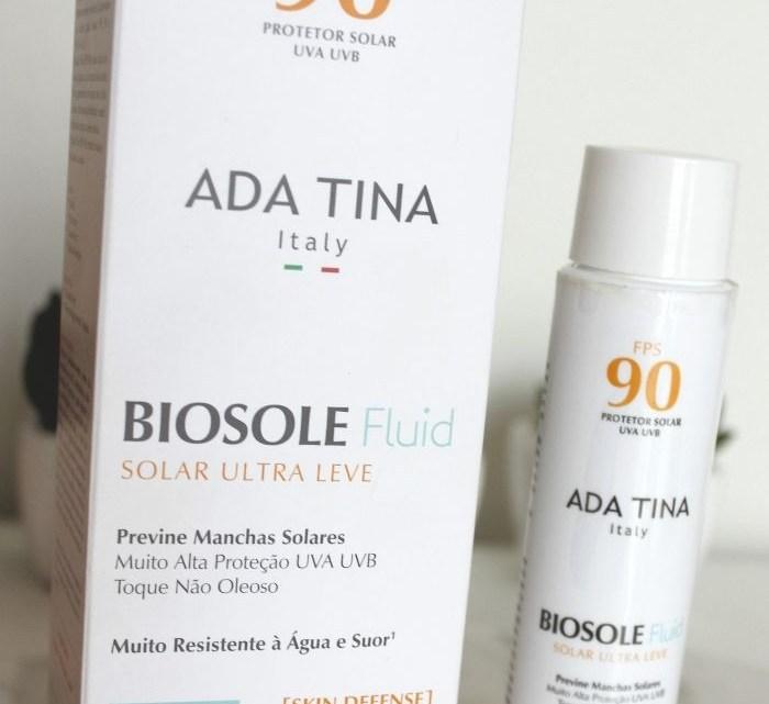 Biosole Fluid FPS 90 da Ada Tina resenha – protetor solar para melasma