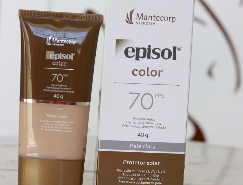 Episol Color FPS70 – resenha protetor solar com cor (atualizado 2021)