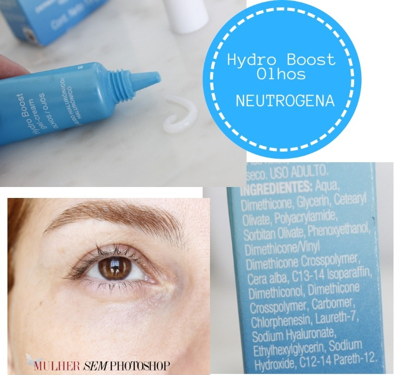 Hydroboost Olhos resenha - creme para olhos Neutrogena
