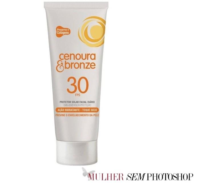 Cenoura e Bronze Protetor Solar rosto – resenha