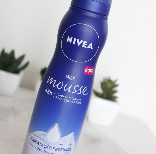Hidratante Mousse Nivea Milk Mousse Pele Seca a Extrasseca resenha