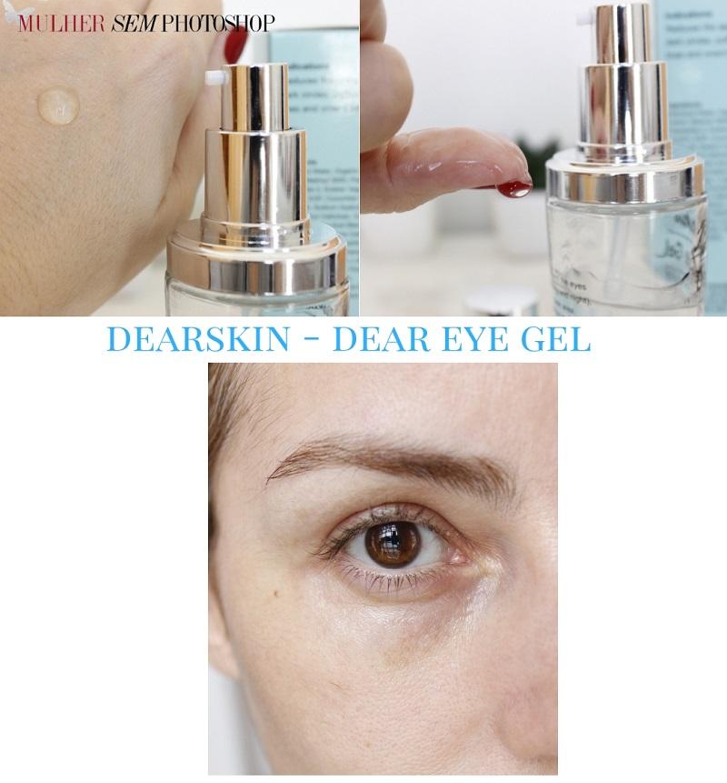Dear Eye Gel Dearskin - gel hidratante para area dos olhos resenha