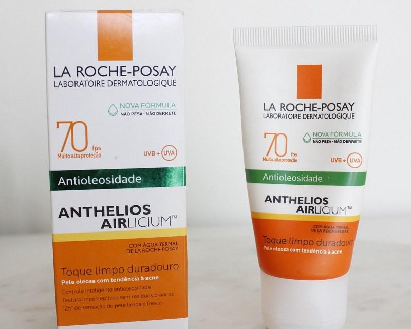 Anthelios Airlicium FPS70  fórmula nova – resenha! Protetor solar para pele oleosa