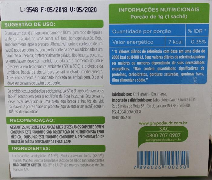 Probióticos para dermatite atópica - Bidrilac - resenha