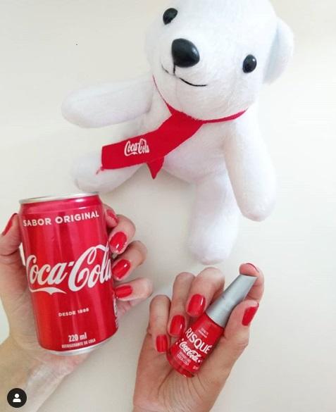 Risque Coca Cola Vermelho Coca Cola Swatches