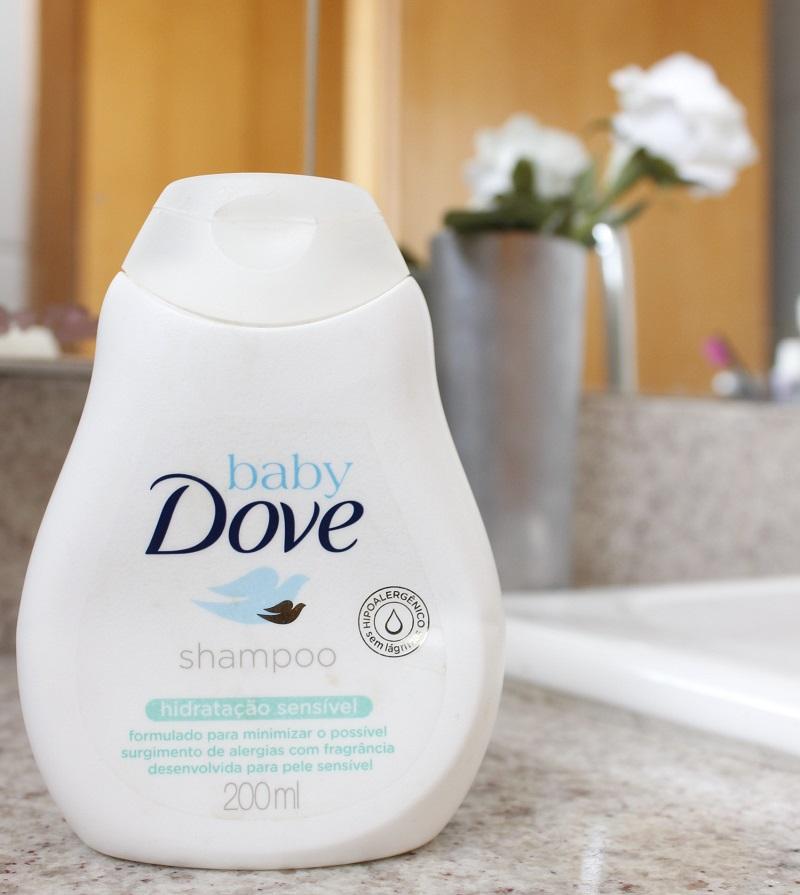 Shampoo Baby Dove Hidratação Intensiva para lavar o rosto - resenha