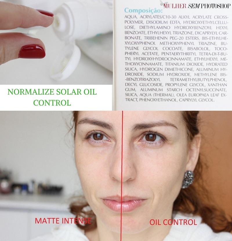 Normalize Solar Oil Control resenha
