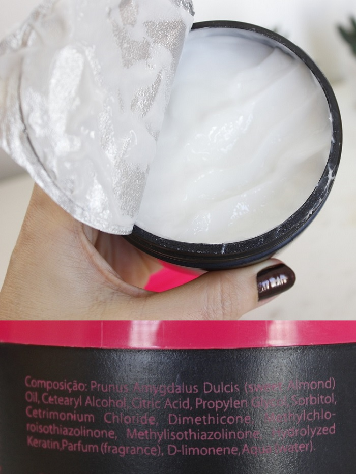 Sagge 3S máscara capilar hidratação resenha