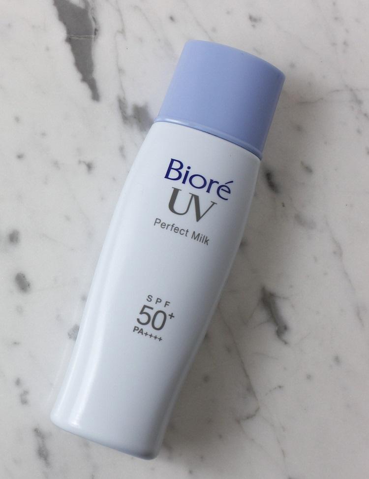 Biore Perfect Milk 2019 resenha protetor solar pele oleosa