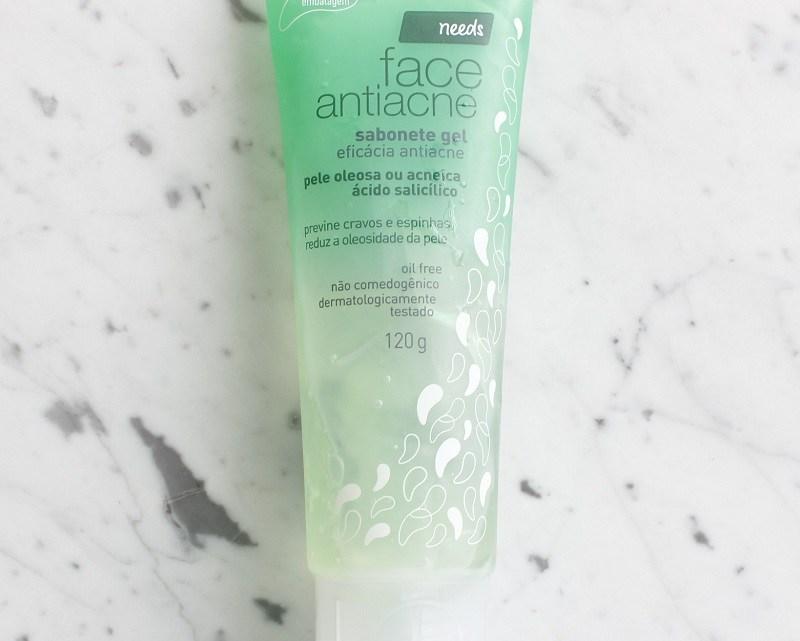 Needs Face Antiacne – minha experiência na pele oleosa