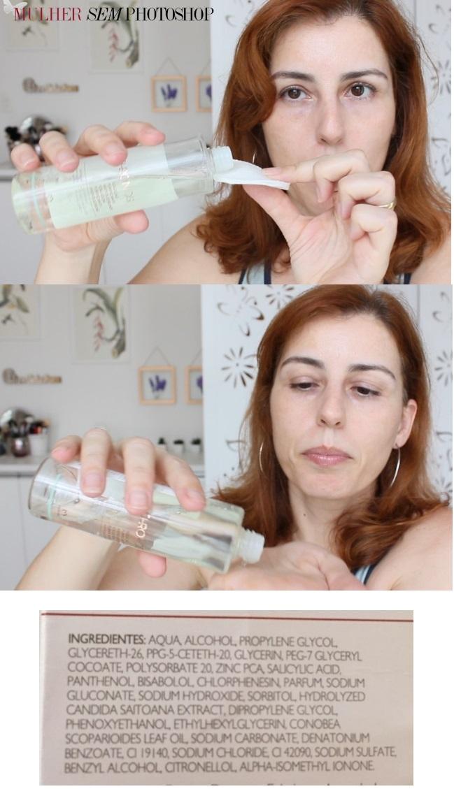 Solução Purificante Antioleosidade Natura Chronos resenha tônico pele oleosa