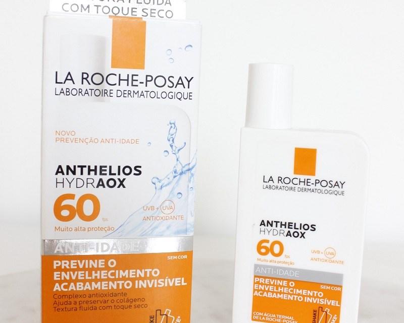 Anthelios Hydraox FPS60 da La Roche – protetor hidratante e com alto PPD!