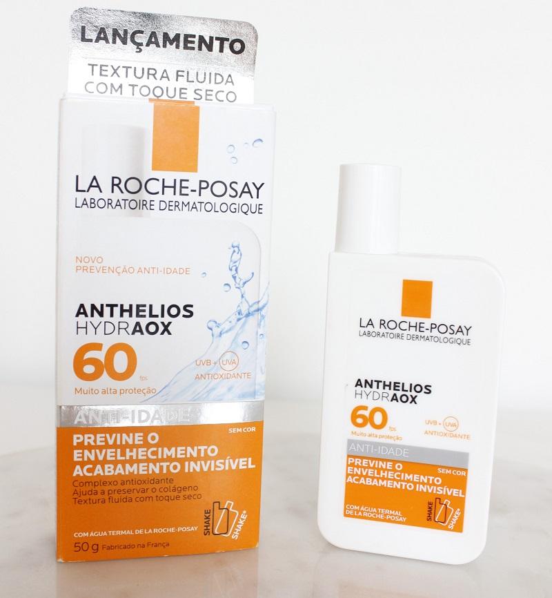 Anthelios Hydraox FPS60 La Roche Posay protetor solar resenha