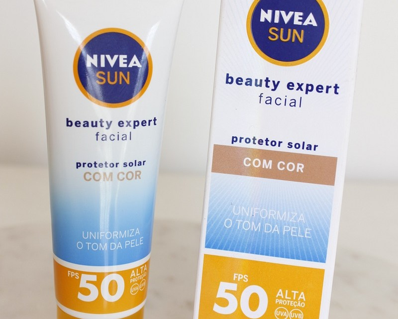 Protetor Solar Beauty Expert com cor Nivea é bom? Resenha com vídeo