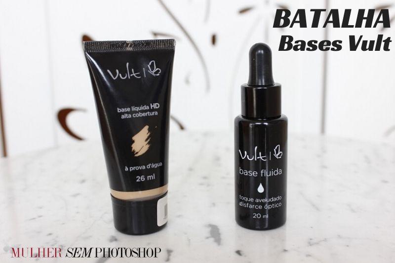 Comparação Vult Base Líquida HD x Base Fluida – qual a melhor?