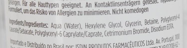 Isdin Micellar Solution resenha água micelar da Isdin