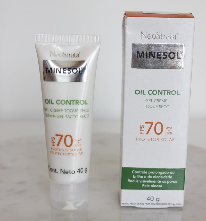 Neostrata Minesol Oil Control resenha em pele oleosa