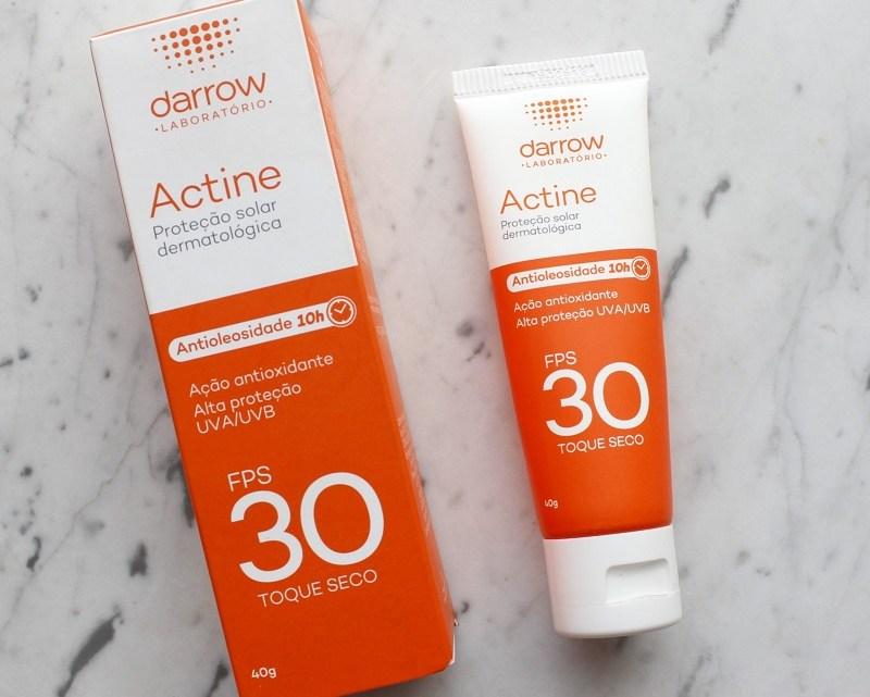 Protetor Actine FPS30 Antioleosidade – resenha