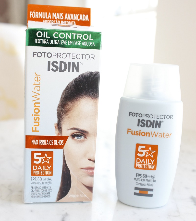 Isdin Fusion Water 5 Stars Daily Protection resenha