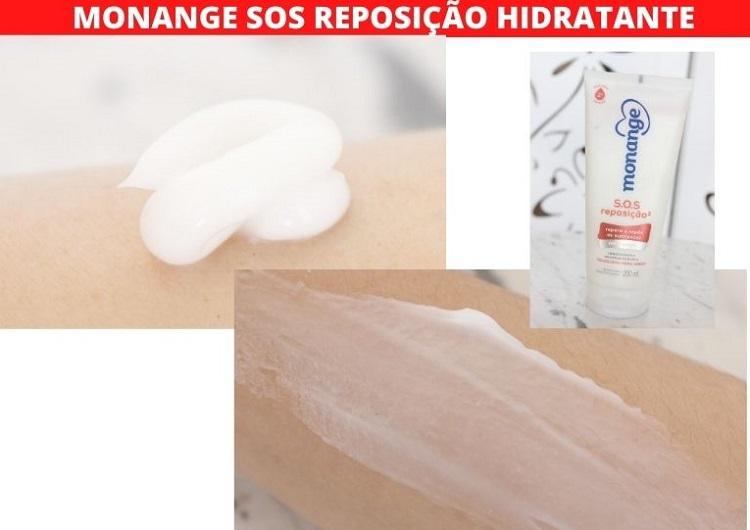 Hidratante Monange SOS Reposição resenha