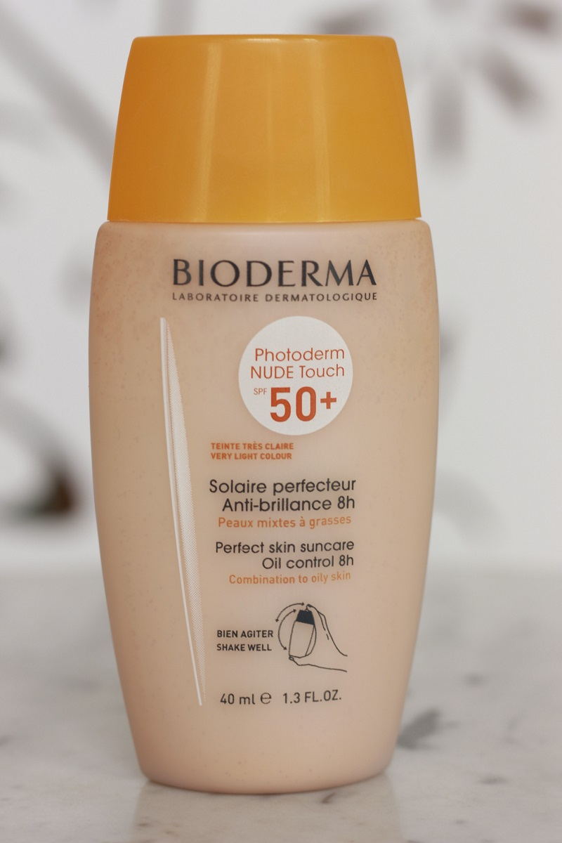 Bioderma Photoderm Nude Touch 50 cor muito claro resenha