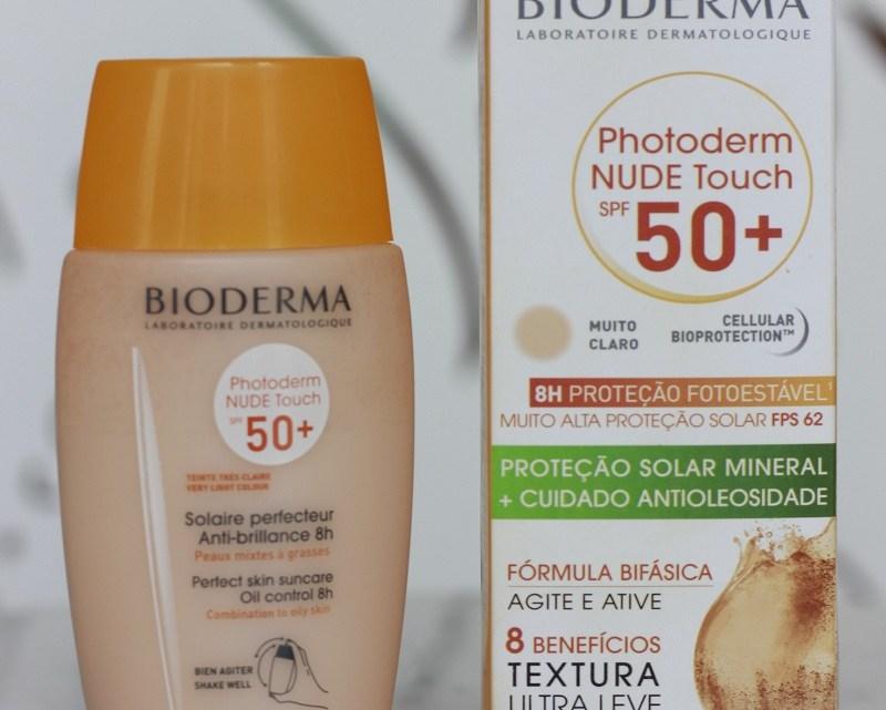Photoderm Nude Touch 50+ cor Muito Claro – resenha de protetor solar mineral
