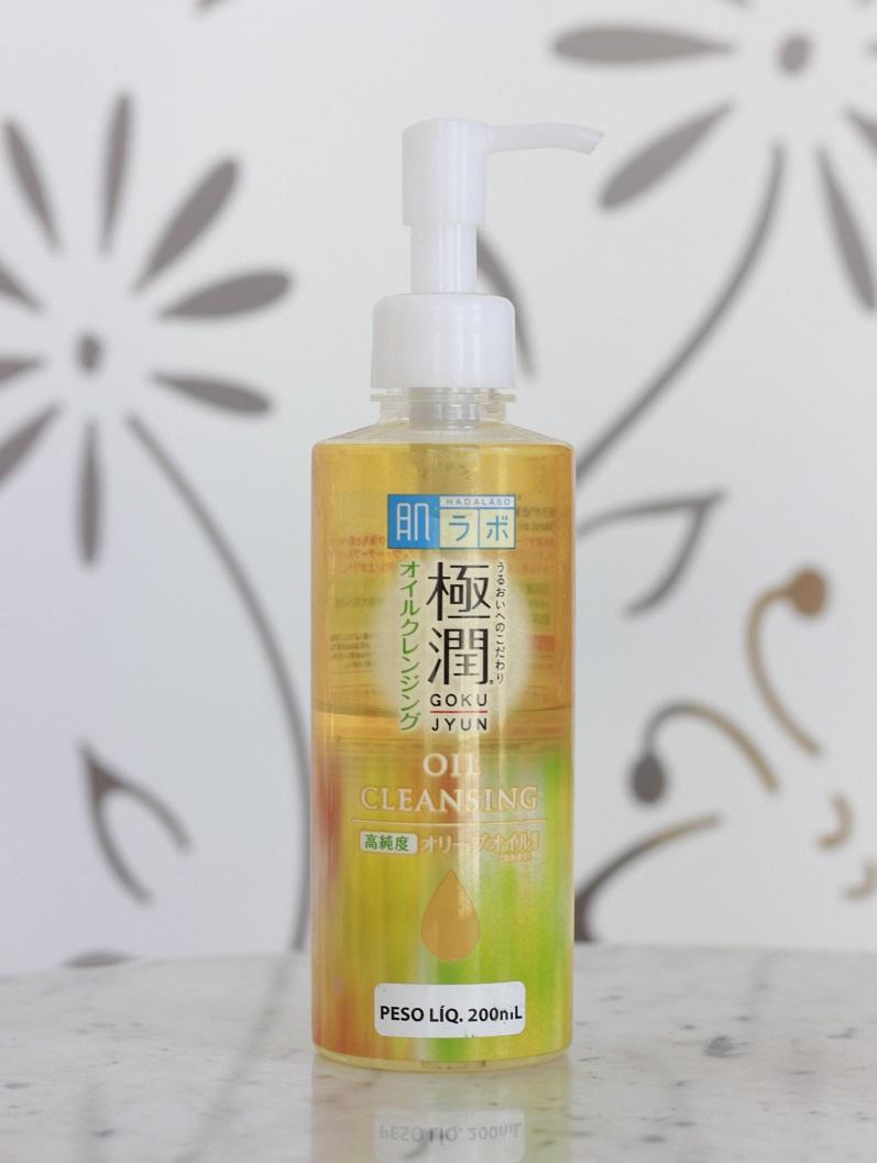 Cleansing Oil Hada Labo Gokujyun resenha