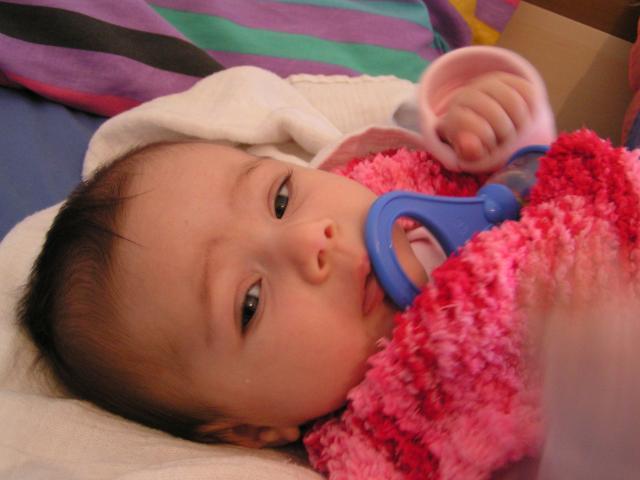 yael 2.5 months old