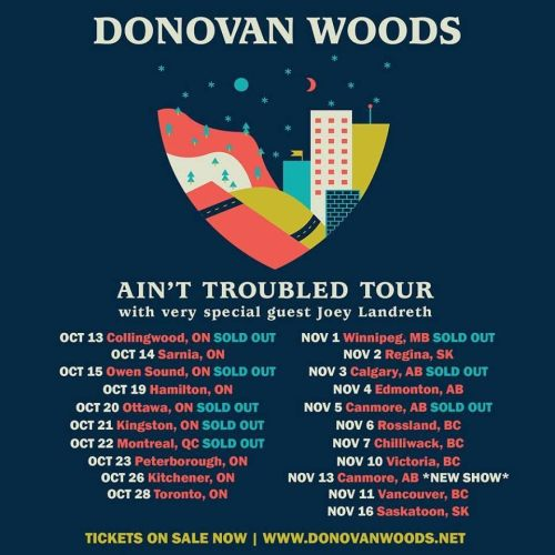 Donovan Woods-tour