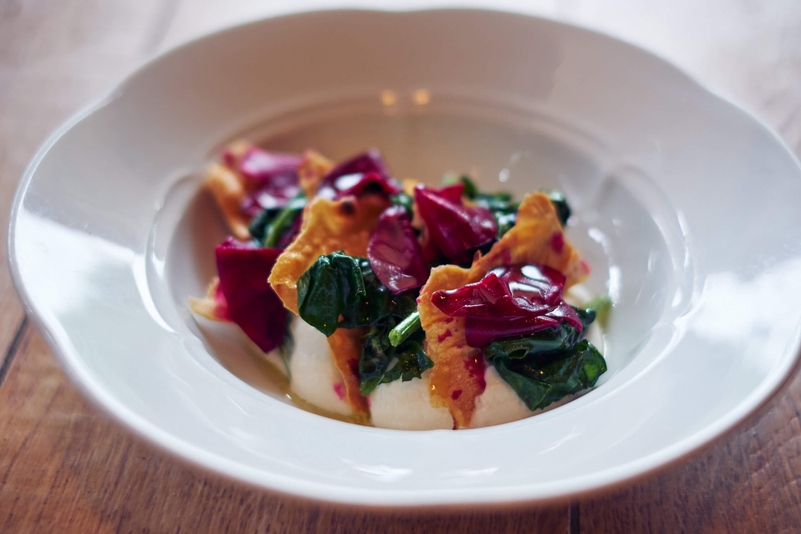 Mullixhiu, Spinach Petka Salad