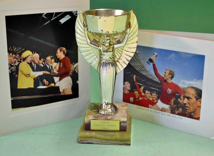 Mullocks Auctions 1966 FIFA World Cup Jules Rimet
