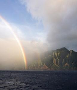Napali Coast Rainbow