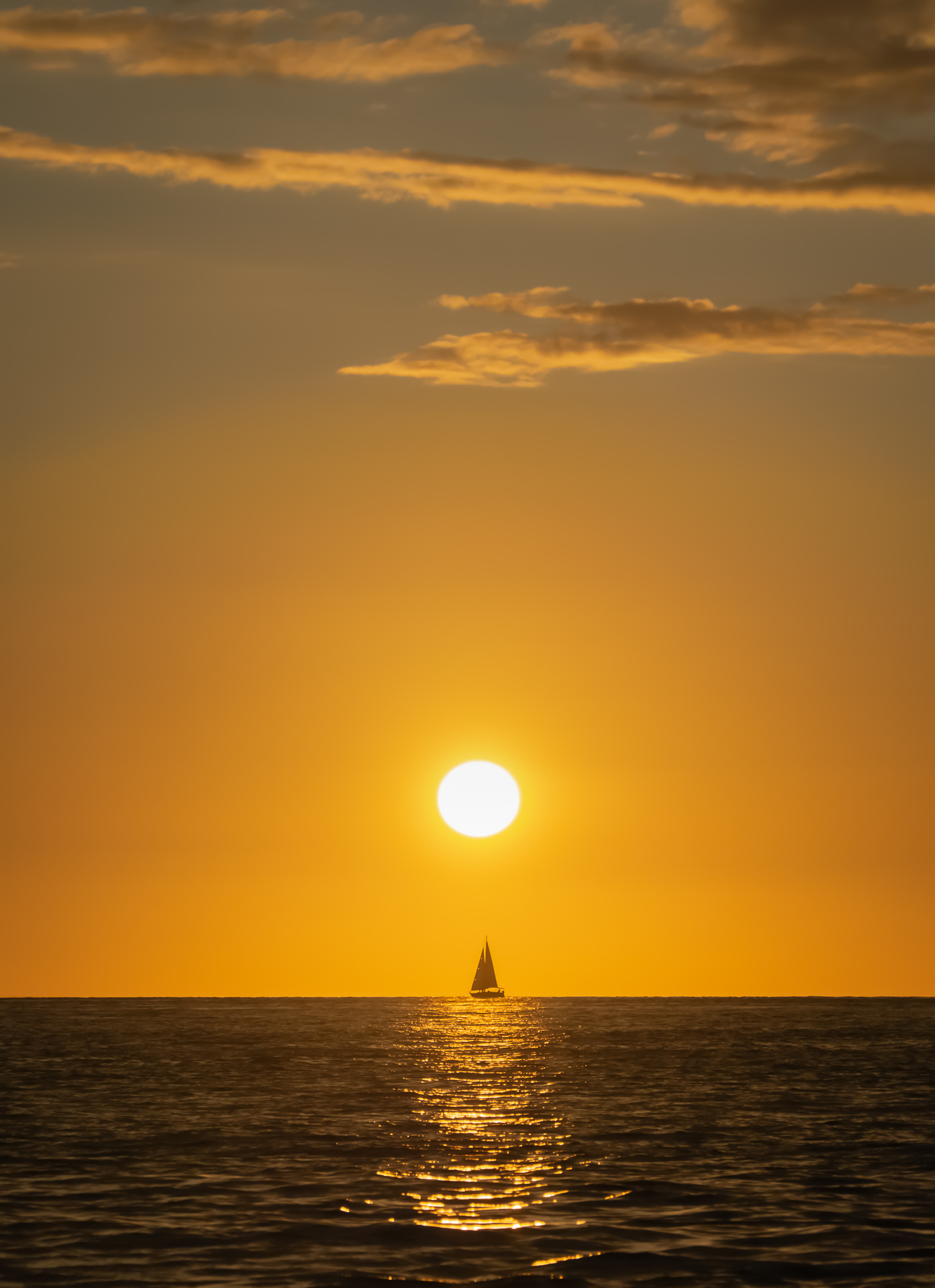 Sailboat in the Sunset