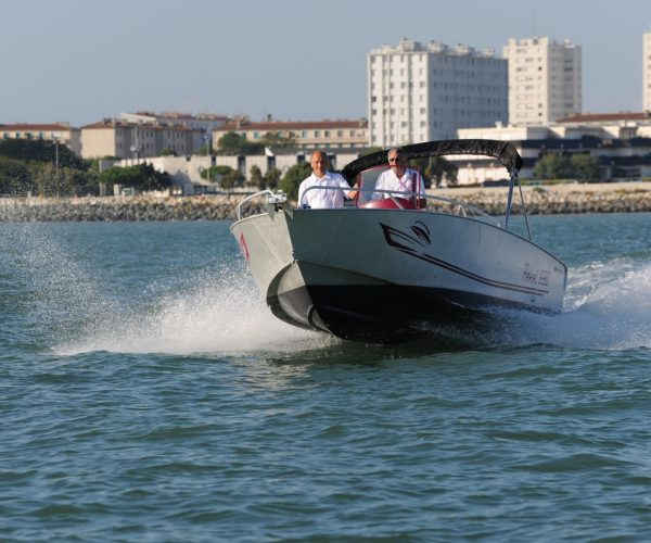 bateau peche et plaisance aluminium arkal