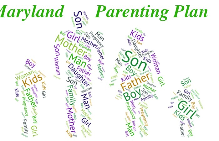 Maryland Parenting Plan