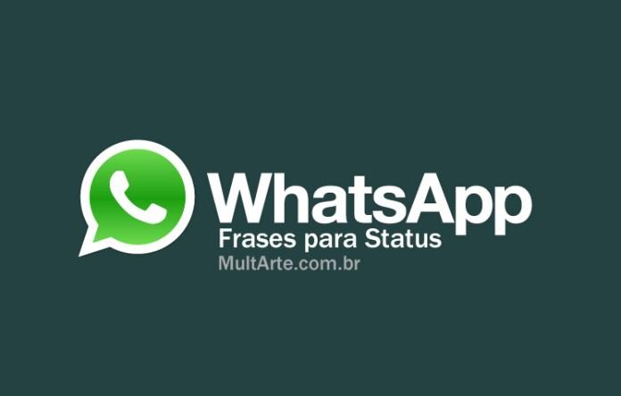 Frases para status do Whatsapp