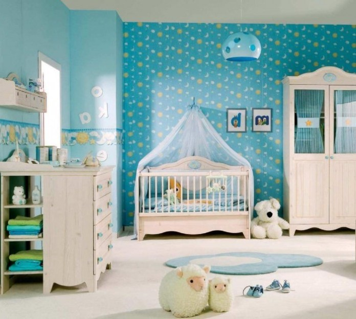 Baby-room-decor-in-blue