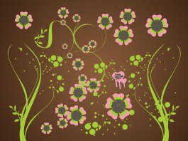 Fundo floral