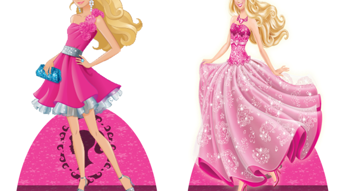 Barbie PNG fundo transparente