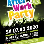 After Work Party 07.03.2020