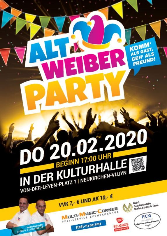 Altweiber Party Moers